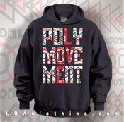 Image of POLYMOVEMENT15 TRIBAL HOODIE