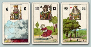 Image of Wüst Lenormand, c. 1885 -- in 3 editions