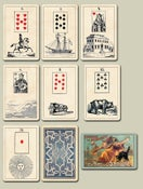 Image of McLoughlin's Lenormand c.1882: Mystic Cards of Fortune