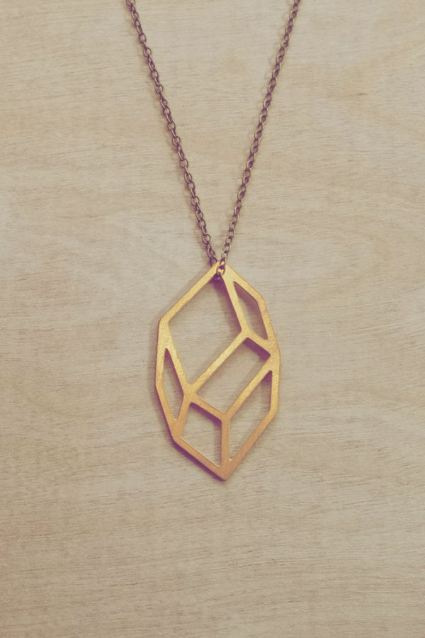 Image of Geometric Pendant Small Irregular