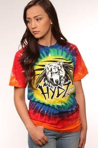 Image of Wolf Spirit / Shirt - Tie Dye