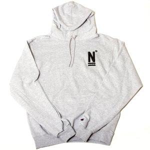 Image of N Logo Hoodie Grey