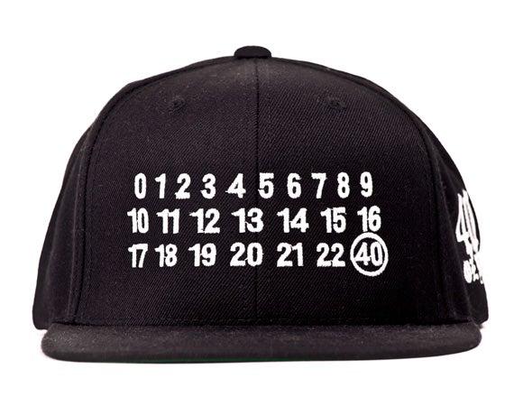 Image of 40 oz NYC - Number Snapback (White)