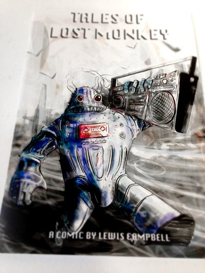 Image of Robot Head Issue 1 Signed copy