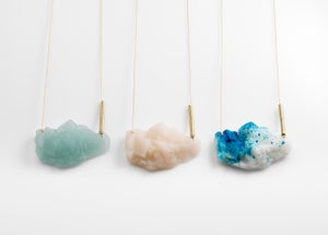 Image of Large Resin Rock Necklaces