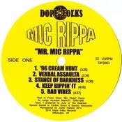 "Image of MIC RIPPA ""MR. MIC RIPPA"" ***SOLD OUT***"