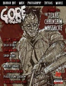 Image of Gore Noir Magazine Issue #12 Texas Chainsaw Massacre!