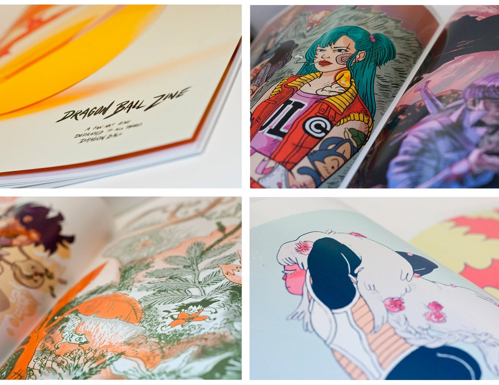 Image of Dragonball Zine