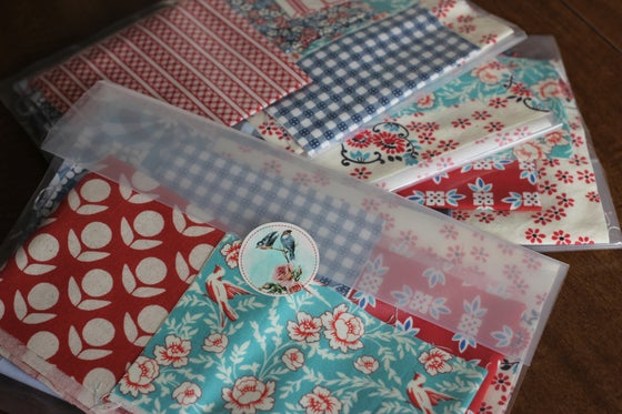 Image of Scrap Bag - red, white, & blue