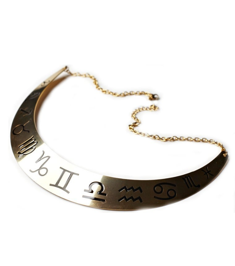 Image of Zodiac Collar Necklace