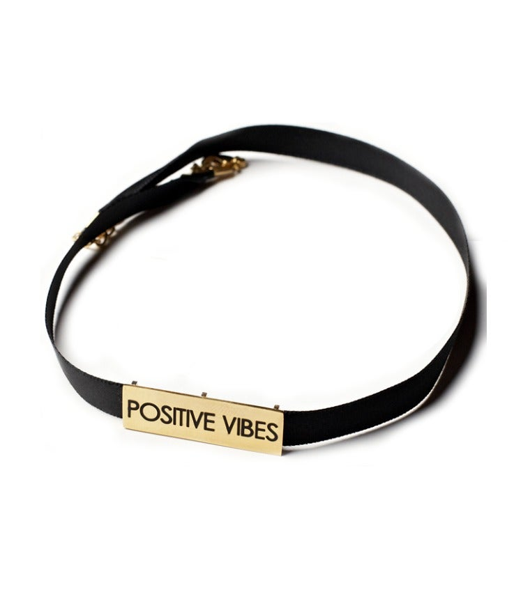 Image of Positive Vibes Choker