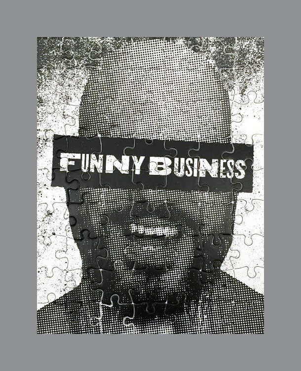 Image of Funny Business 63-Piece Puzzle