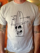 Image of ON SALE! Skull T-Shirt / New Silver
