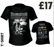 Image of Damnation 2014 Tshirt