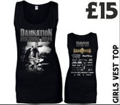 Image of Damnation 2014 Girls Vest Top