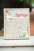 Image of Beautiful the Marriage Small Canvas