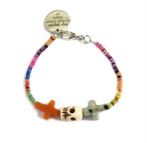 Image of Crossed Lover Bracelet (Rainbow 6.0)