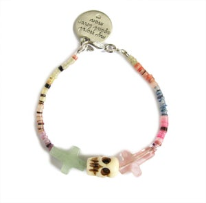 Image of Crossed Lover Bracelet (Rainbow 7.0)
