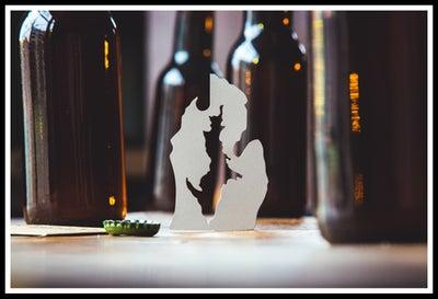 Image of Michigan Bottle Opener - Fusion