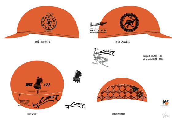Image of D.I.T.C. cycling cap 2015