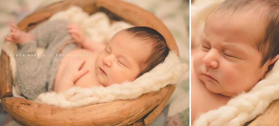 Image of mini Blanket/ Stuffer Newborn & Baby Prop