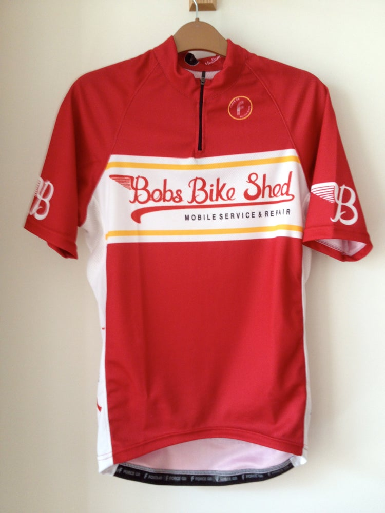 Image of Bobs Bike shed  Cycle Jerseys