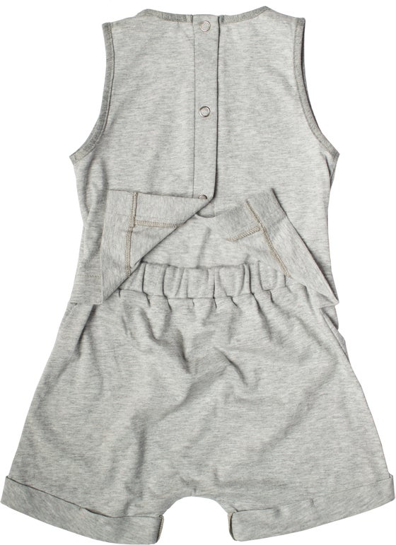 Image of ROMPER - Grey marle