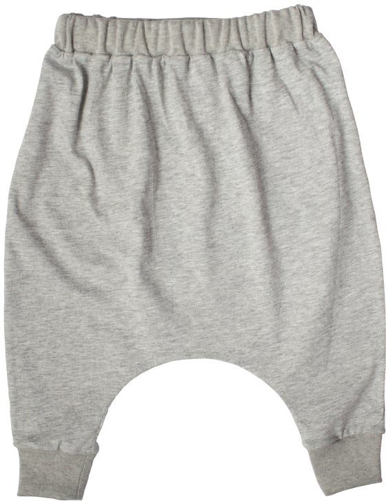 Image of SLOUCH PANTS / Grey marle