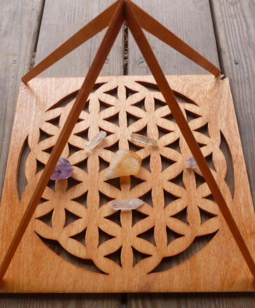 Image of Flower of Life Pyramid