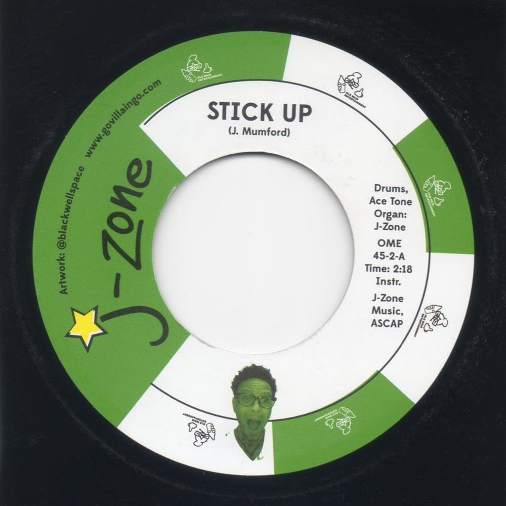 "Image of Stick UP / Mad Rap - 7"" Vinyl"