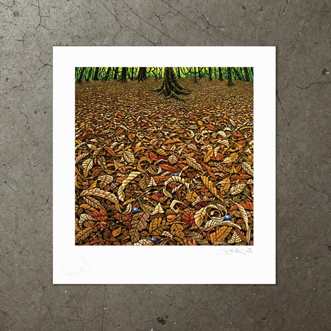 Image of Cathedral Floor - Art Print