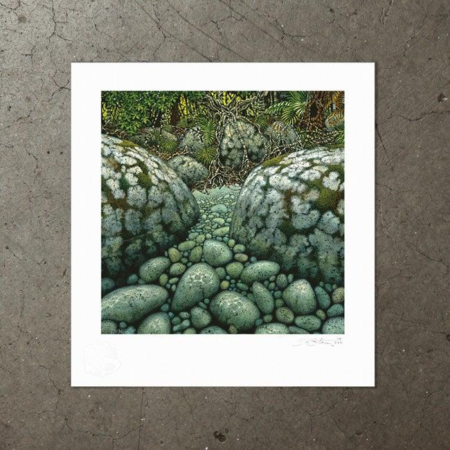 Image of Riverbank Romance  - Art Print