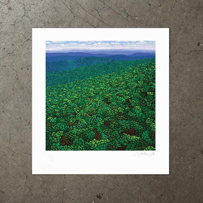 Image of Beyond The Sea of Trees - Art Print