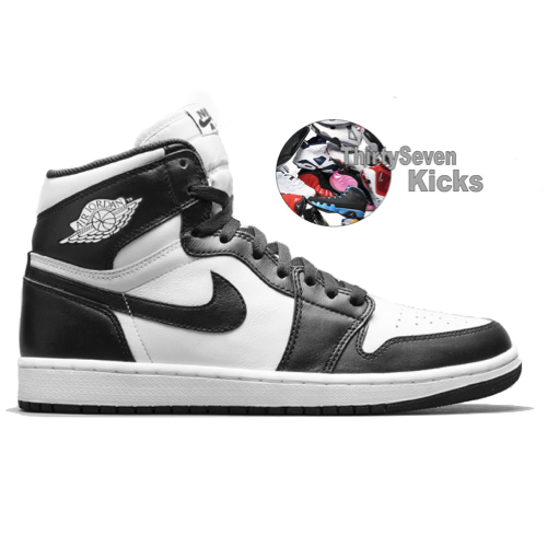 "Image of Jordan Retro 1 ""Black/White"""
