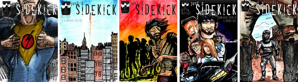 Image of Just A Sidekick issues 1 - 5