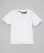 Image of Full White V-neck