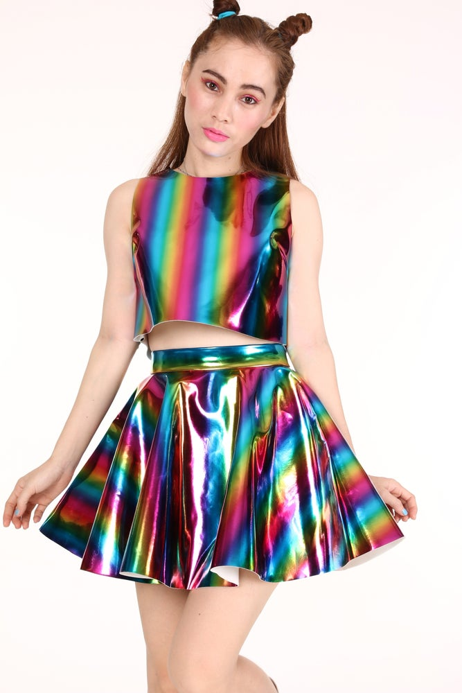 Image of Made To Order - Daniela Hologram Set in Rainbow Hologram