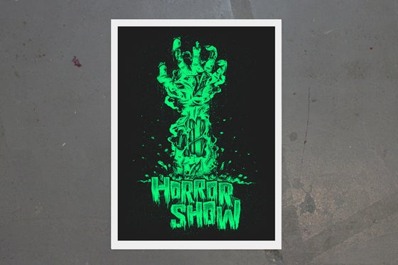 Image of Horror Show Giclee print by New Rule