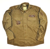 Image of 'FREEDOM FIGHTER' Vintage Fatigue Shirt