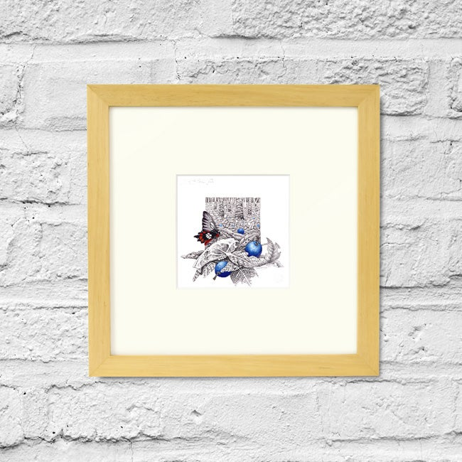 Image of Forest Floor - Study II - Framed Print