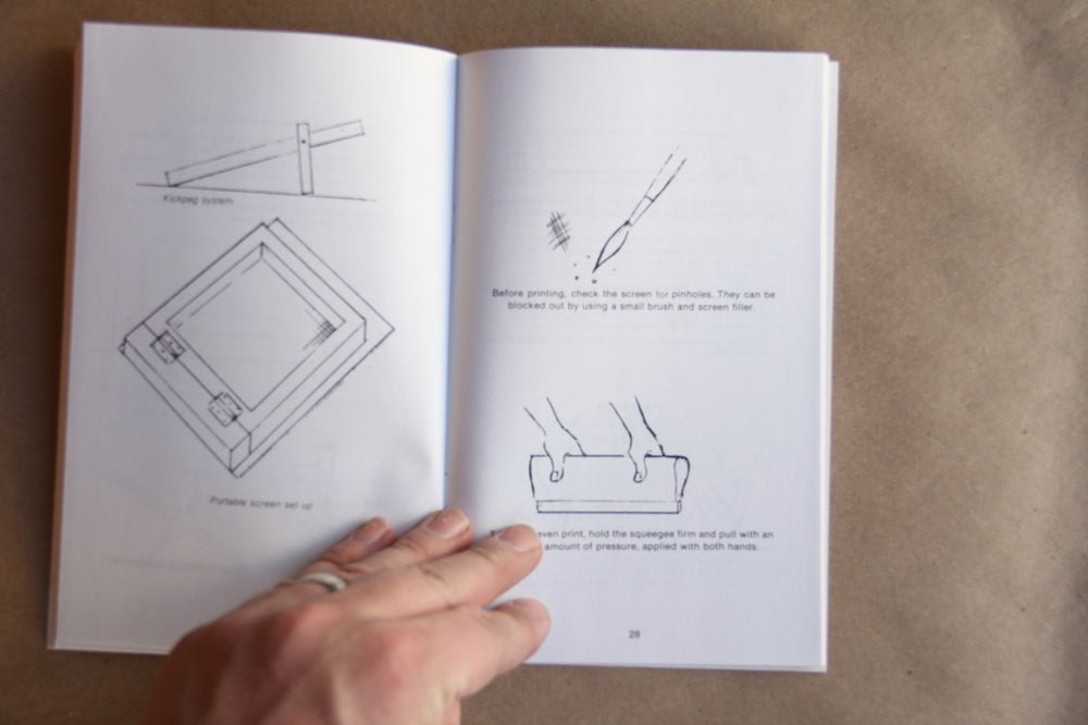 Image of Screen Printing the easy way for the small shop by Lonnie Tettaton