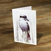 Image of Laughing Kookaburra - Gift Card