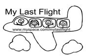 Image of My Last Flight Bumper Stickers