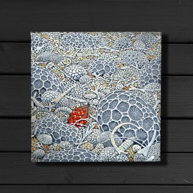 Image of Pandanus Beach - Canvas Print