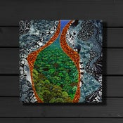 Image of Birds Eye View - Canvas Print