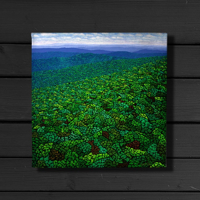 Image of Beyond The Sea of Trees - Canvas Print
