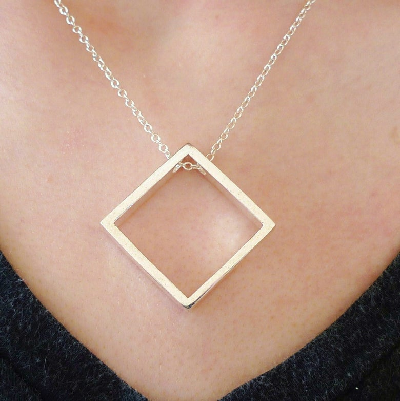 Image of Squared Necklace