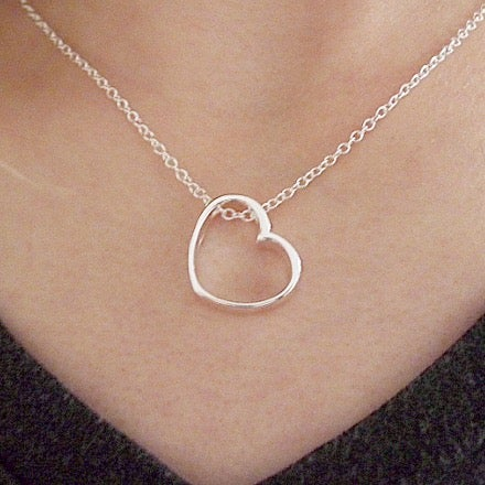 Image of Open Heart Necklace