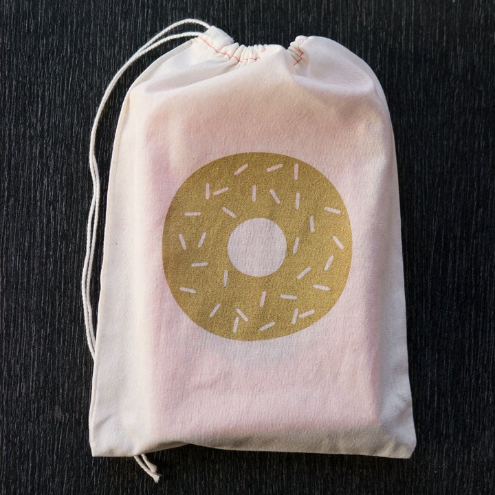 Image of Doughnut Gift Bags Wholesale (5 bags)