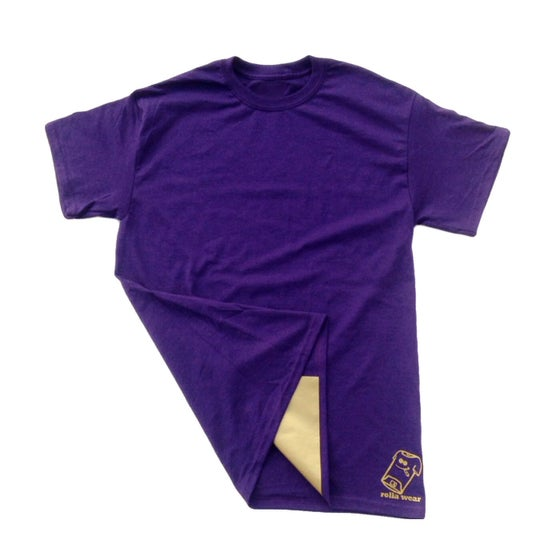 Image of Purp and gold  Rolla Wear Tshirt